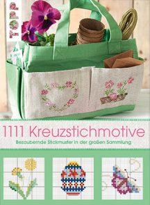 Cover: 1111 Kreuzstichmotive von verschiedenen Autoren