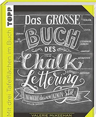 Cover: Das große Buch des Chalk-Lettering von Valerie McKeehan